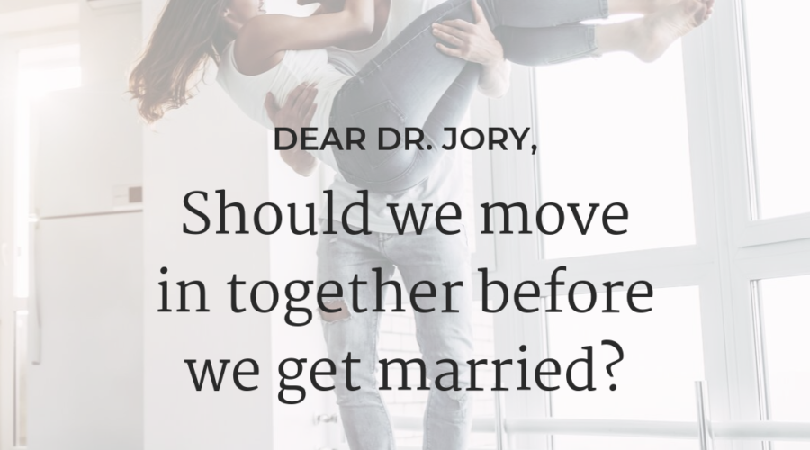 What should we consider before moving in together?